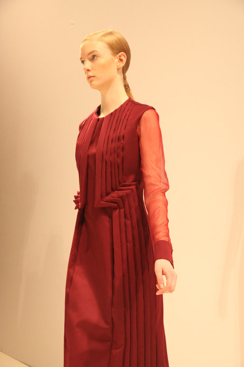 Georgia Hardinge AW 2012 - photo by Amelia Gregory