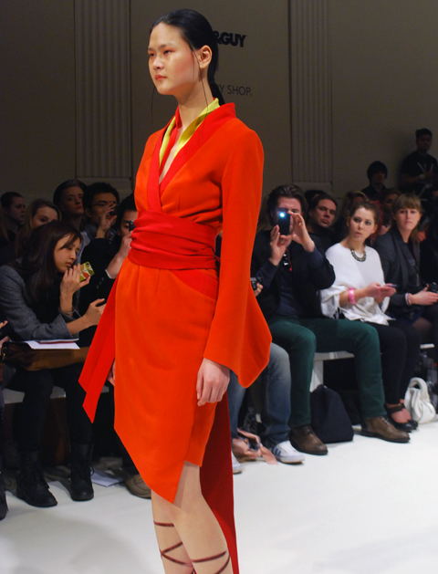 Ji Cheng AW 2012 photo by Maria Papadimitriou