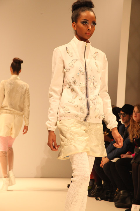 Ones to Watch Myrza de Muynck AW 2012  photo by Amelia Gregory