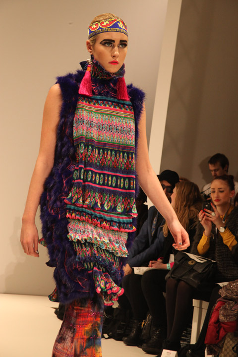 Ones to Watch Nova Chiu AW 2012 - photo by Amelia Gregory
