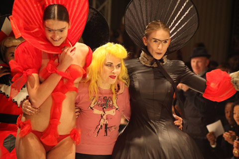 Pam Hogg AW 2012 -photo by Amelia Gregory
