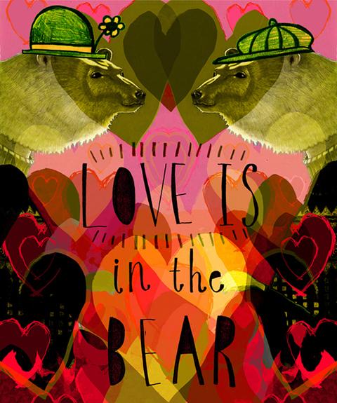 Rebecca-Hendin Valentines bear