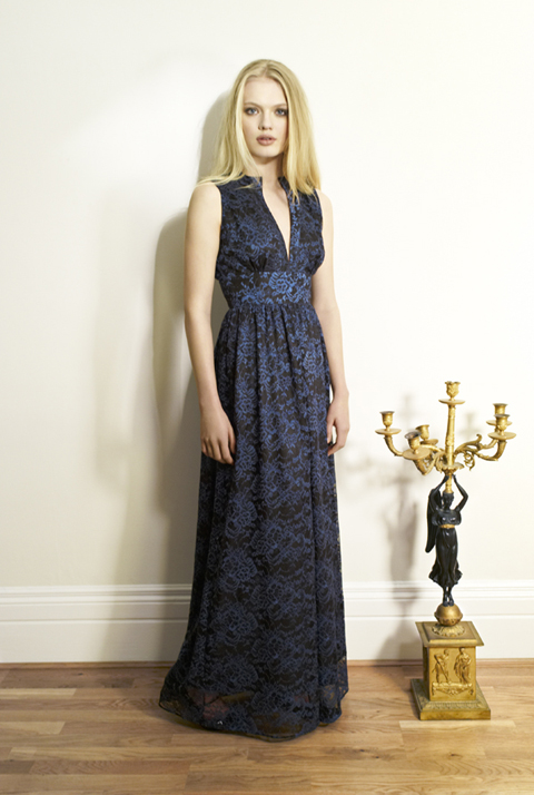 Beautiful Soul AW12 Mi Dress-British lace