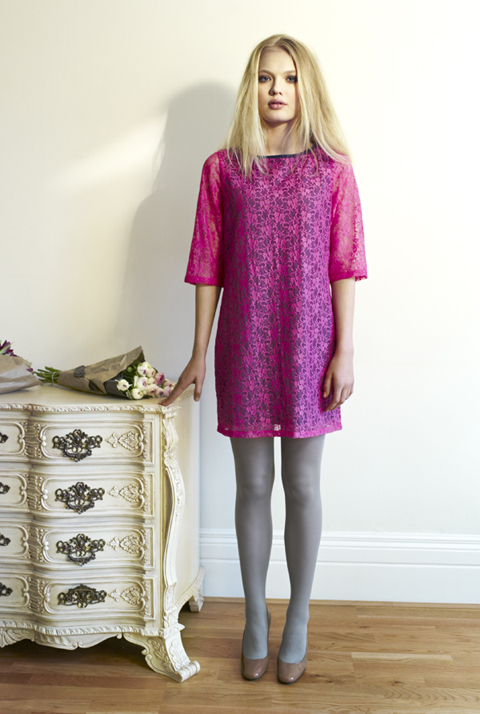 Beautiful Soul AW12 Midori Dress-British lace