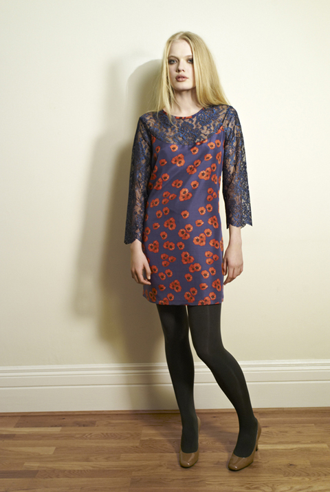Beautiful Soul AW12 Nao Dress-Briti#84185E