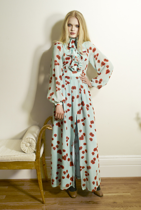 Beautiful Soul AW12 Sora Dress-Poppy Turq