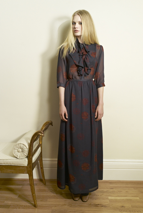 Beautiful Soul AW12 Takara Blouse-Olivia Rose|Kin Skirt-Olivia Rose