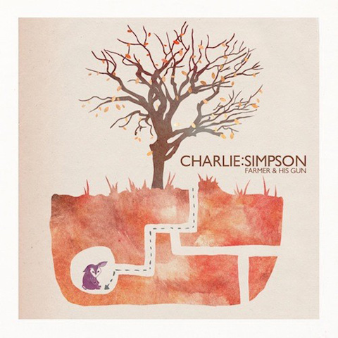 Charlie Simpson farmer and his gun single
