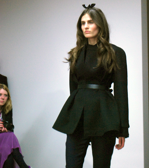 Emilio de la Morena A/W 2012 photo by Maria Papadimitriou