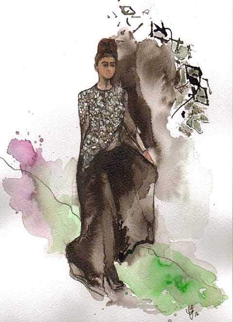 Lako Bukia A/W 2012 by Claire Jones