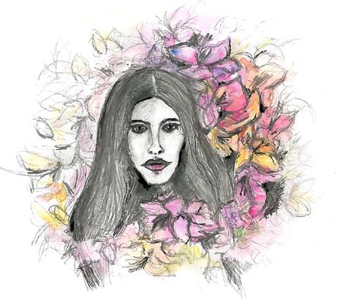 Lana Del Rey by Deborah Moon