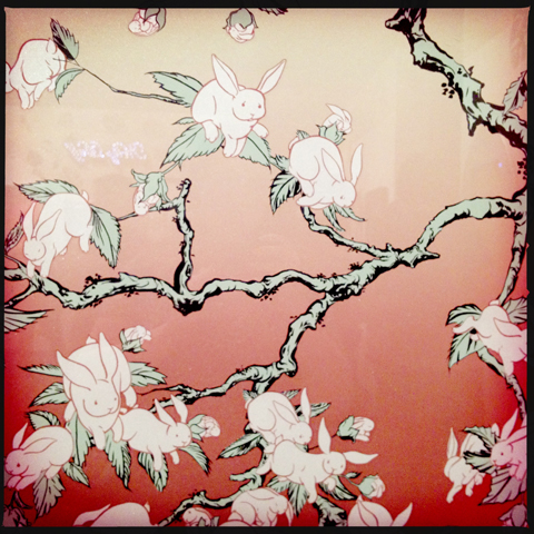 Pick Me Up 2012 -'Bunny Blossom' by American artists Kozyndan.