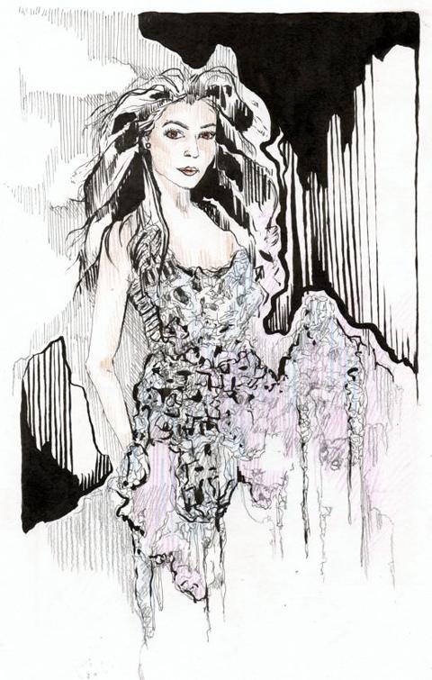 Satoshi Date AW 2012 by Kristina Vasiljeva