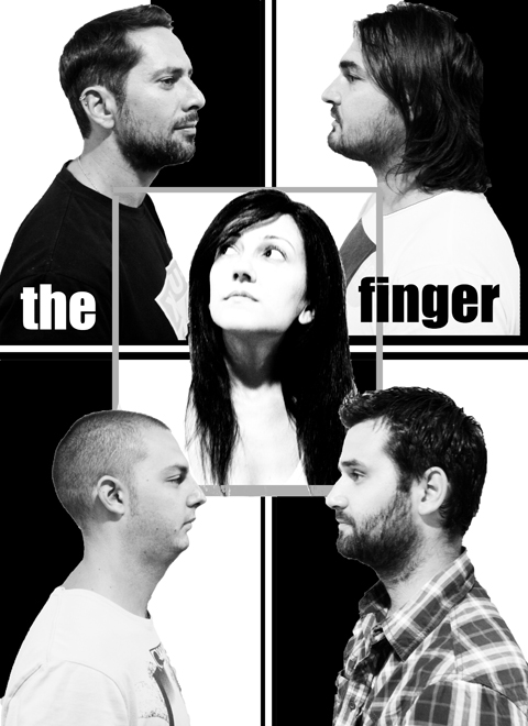 The Finger Band heads