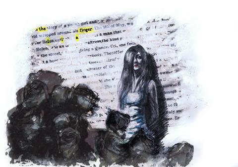 The Finger Lia and Album Artwork by Madeleine Lithvall