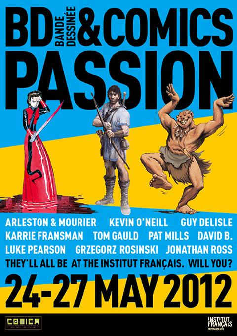 BDComicsPassion Poster