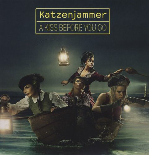 Katzenjammer a kiss before you go album cover