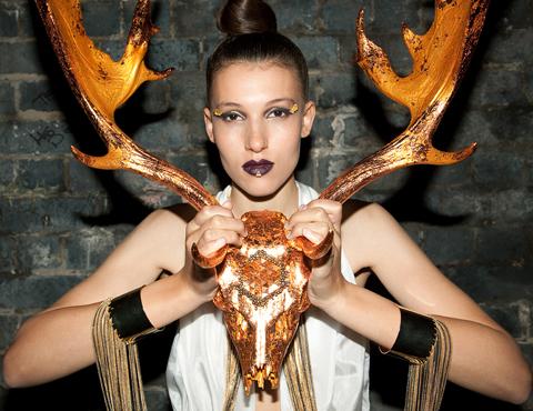 Lauren Baker mosaics WildFire
