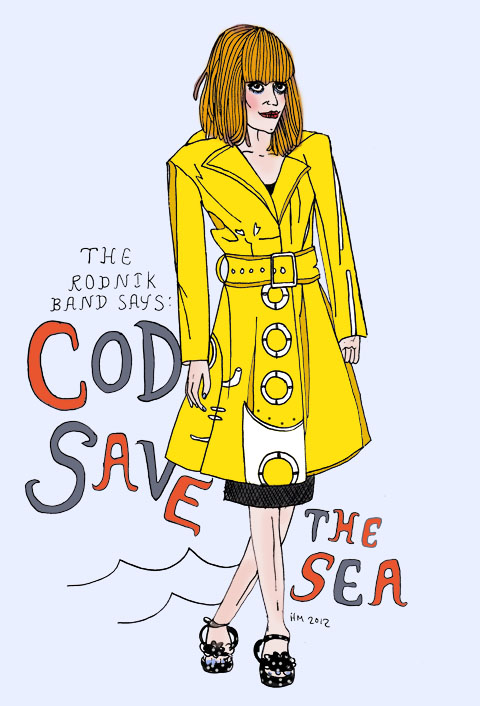The Rodnik Band SS12 Cod Save The Sea by Helena Maratheftis