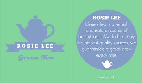 Roisin Carr rosie lee tea