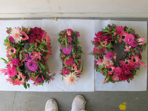 The Flower Appreciaiton Society_flower letters