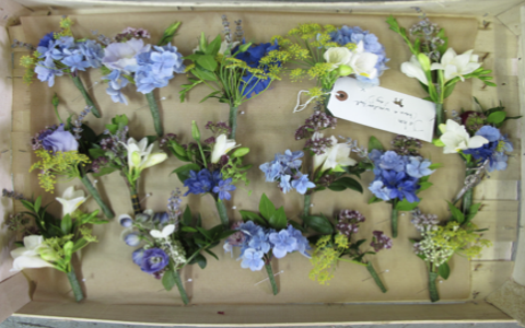 The Flower Appreciation Society Buttonholes