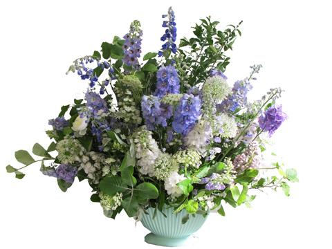 The Flower Appreciation Society big lilac display