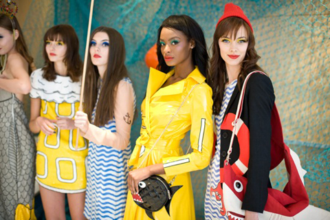 The Rodnik Band 'Cod Save the Sea' SS12 collection