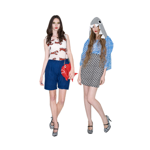 The Rodnik Band SS12 ASOS diffusion line looks 1+2