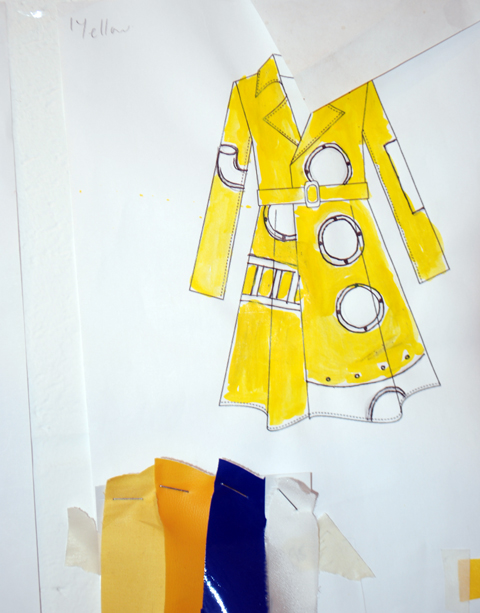The Rodnik Band studio 2012 'Cod Save the Sea' yellow submarine mac sketch by Phil Colbert photo by Maria Papadimitriou