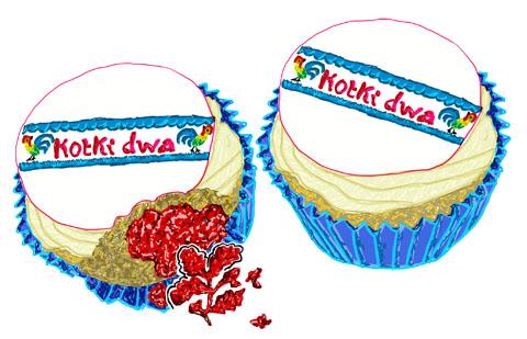 Kotki Dwa Cakes by Abi Renshaw