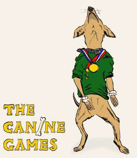 The Canine Games by Nat Griffin
