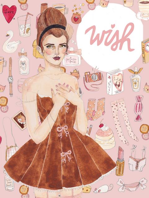 Wish Wish Wish magazine carrie harwood lucy nicholls