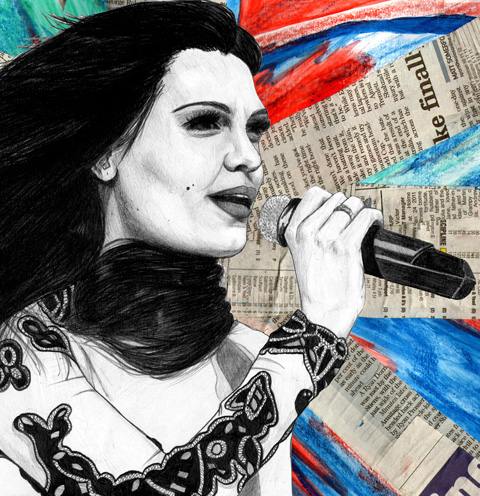 Jessie J By Laura Hickman