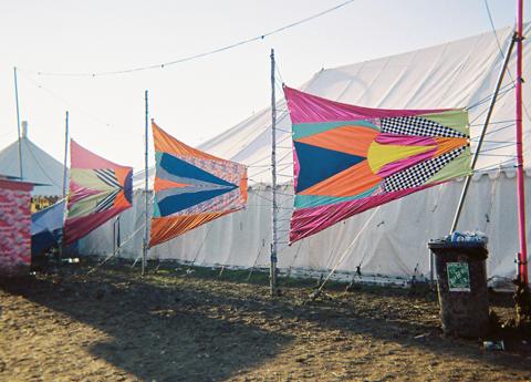 Secret Emporium at Secret Garden Party Bannersphoto by Maria Papadimitriou