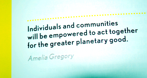 Think Act Vote The Future We Choose Book Launch Amelia Gregory Quote