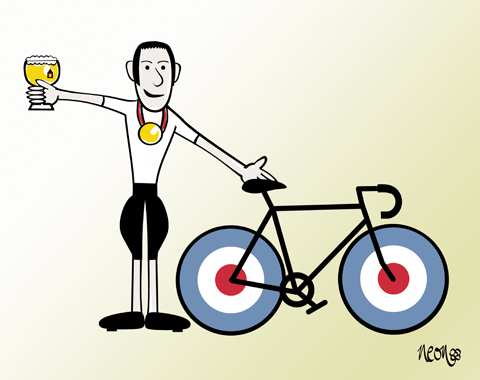 Whats leffe for Bradley Wiggins by neonflower