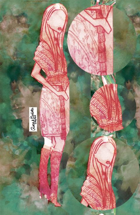 Vita Gottlieb, Illustration by Rosa and Carlotta Crepax, Illustrated Moodboard