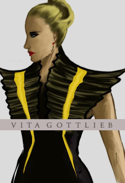 Vita Gottleib A/W 2012 by Gemma Sheldrake