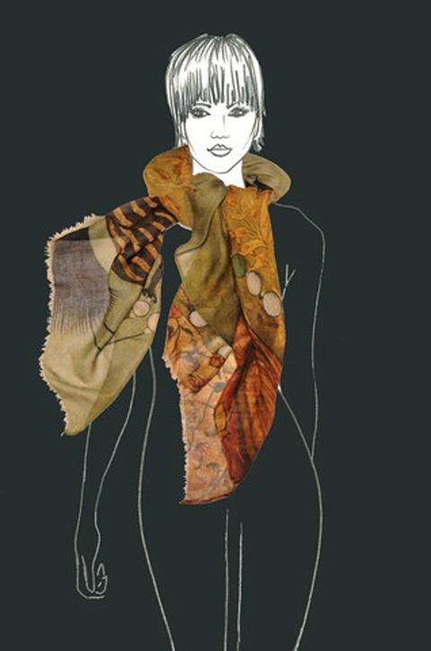 Vita Gottlieb AW 2012 scarf