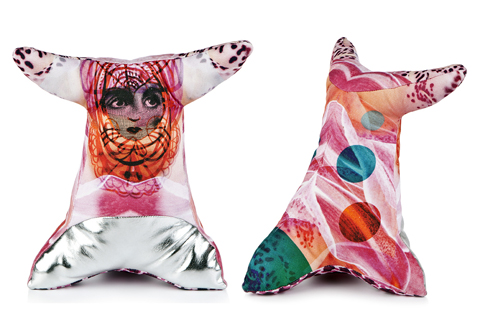 constructive studio cushion