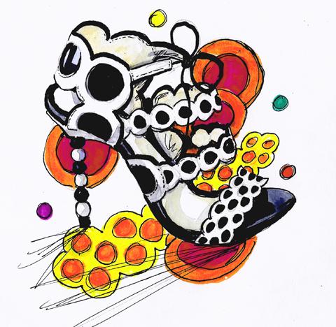 jenny robins - amelias magazine - lfwss13 -  sketch blog - buba london -sophia webster