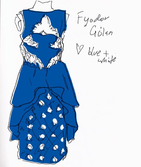 jenny robins - amelias magazine - lfwss13 -  sketch blog - fyoder golan sketch