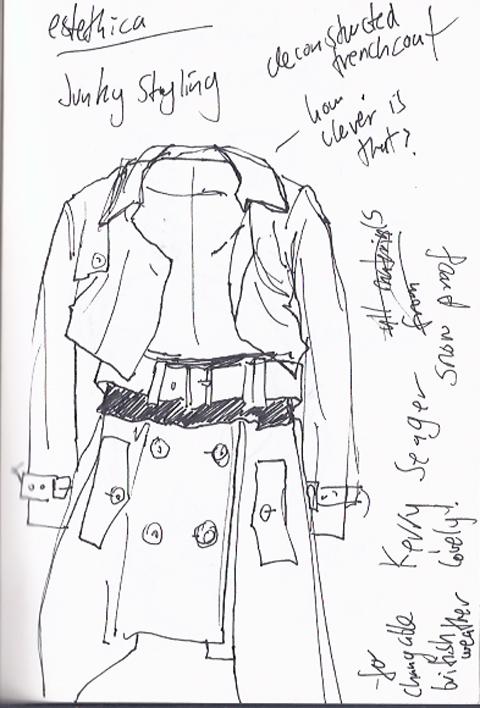 jenny robins - amelias magazine - lfwss13 -  sketch blog - junky styling