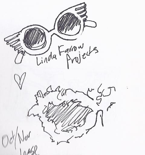 jenny robins - amelias magazine - lfwss13 -  sketch blog - linda farrow