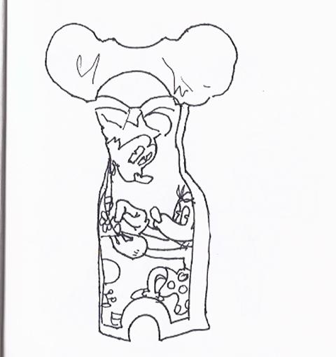 jenny robins - amelias magazine - lfwss13 -  sketch blog - minnie