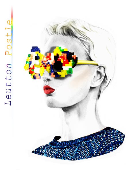 Leutton Postle sunglasses by Rebecca May Higgins