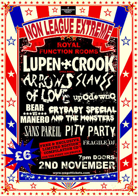 Lupen Crook album launch party