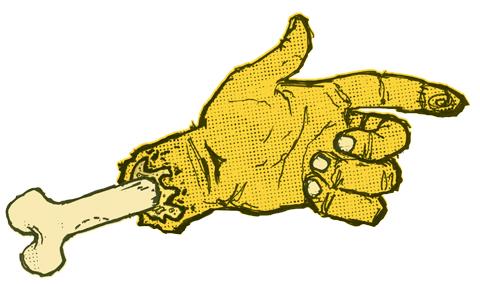 Zombie Hand by Ben Rider
