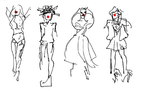 amelias magazine - jenny robins - sorapol ss13 - catwalk sketches 12